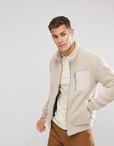Мягкая флисовая куртка Esprit - Бежевый