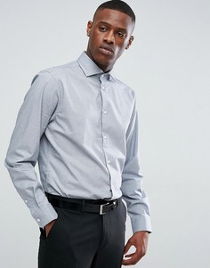 Строгая рубашка в клетку Esprit - Серый