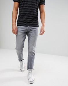 Серые джинсы прямого кроя Esprit - Серый