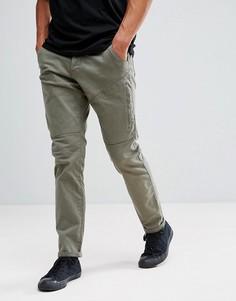 Светлые брюки-карго цвета хаки Esprit - Зеленый
