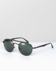 Серые солнцезащитные очки-авиаторы AJ Morgan Fast - Серый