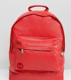 Красный рюкзак из мятой искусственной кожи Mi-Pac - Красный