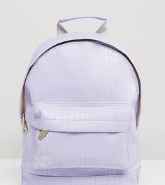Сиреневый рюкзак из искусственной крокодиловой кожи Mi-Pac - Фиолетовый