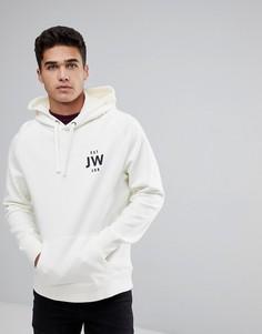 Худи бежевого цвета Jack Wills Batsford JW - Белый