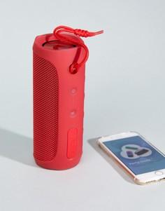 Красный портативный Bluetooth-динамик с 12 часами бесперебойной работы JBL Flip 4 - Мульти
