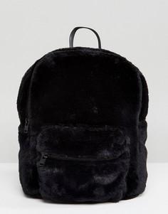 Рюкзак Hollister Furry - Черный