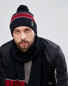 Черная шапка-бини Luke Sport Baxter - Черный