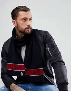 Черный шарф Luke Sport Barclay - Черный