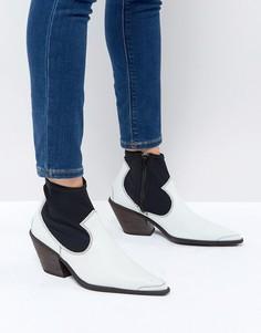 Монохромные ботинки Free People - Белый