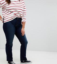 Моделирующие прямые джинсы Levis Plus 314 - Синий