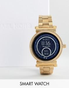 Золотистые смарт-часы Michael Kors Access MKT5021 Sofie - Золотой