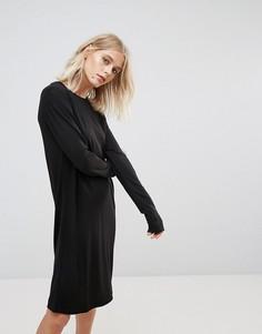 Платье-футляр Weekday - Черный