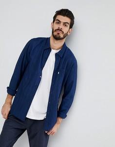 Рубашка цвета индиго в полоску с карманом Levis Sunset - Темно-синий Levis®