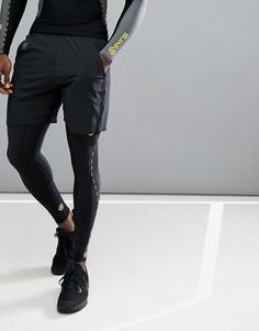 Черные шорты 7 дюймов Skins Running Square SP00511559001 - Черный