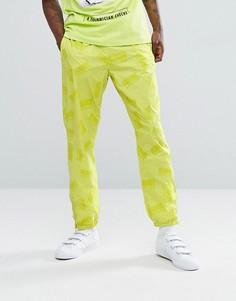Желтые джоггеры с принтом логотипа Billionaire Boys Club - Желтый