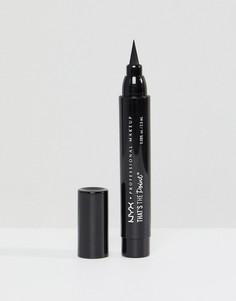 Подводка для глаз NYX Professional Makeup Thats The Point - Put a Wing on It - Черный