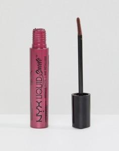 Матовая губная помада с эффектом металлик NYX Professional Makeup Liquid Suede - Бежевый