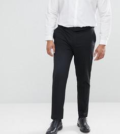 Черные облегающие строгие брюки River Island PLUS - Черный