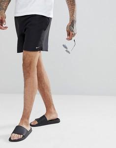 Черные суперкороткие шорты для плавания Nike Volley NESS8509-001 - Черный