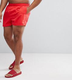 Красные короткие шорты для плавания Nike Plus Volley NESS8830-614 - Красный