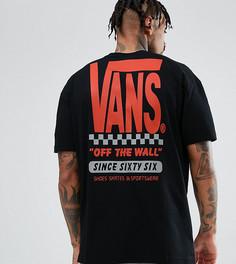 Черная футболка с принтом на спине Vans эксклюзивно для ASOS - Черный