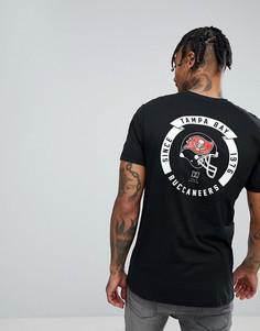Футболка с принтом на спине New Era Tampa Bay Buccaneers - Черный