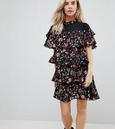 Короткое платье Vero Moda Petite - Черный