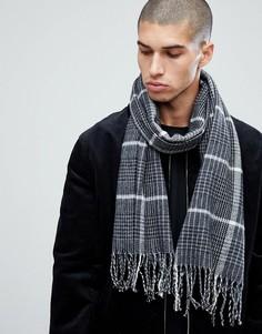 Черный шарф New Look - Черный
