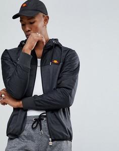 Куртка со стеганым капюшоном Ellesse - Черный