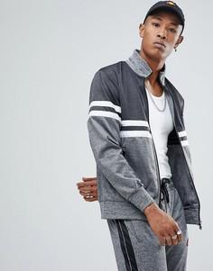 Спортивная куртка с контрастной вставкой Ellesse - Серый