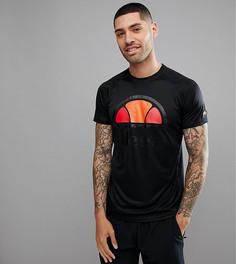 Черная футболка с логотипом Ellesse Sport - Черный