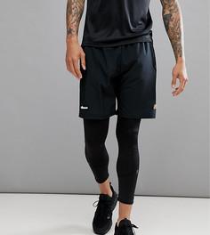Черные шорты с логотипом на поясе Ellesse Sport - Черный