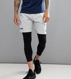 Серые спортивные шорты с логотипом на поясе Ellesse - Серый