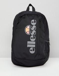 Рюкзак со светоотражающим логотипом Ellesse - Черный