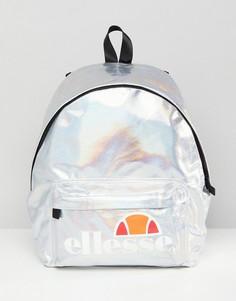 Рюкзак с переливающимся эффектом и логотипом Ellesse - Серый