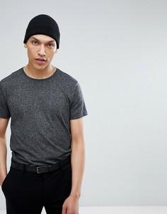 Черная футболка с круглым вырезом Lindbergh - Черный