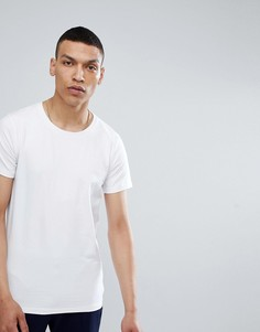Белая футболка с круглым вырезом Lindbergh - Белый