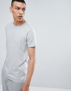 Серая футболка с круглым вырезом Lindbergh - Серый