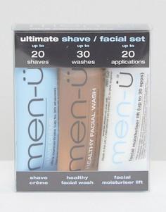 Набор для бритья men-u Ultimate - 3 x 15 мл - Бесцветный Men:U