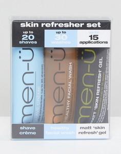 Набор для ухода за кожей men-u Skin Refresher - 3 x 15 мл - Бесцветный Men:U