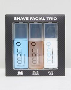 Тройной набор для бритья men-u - Бесцветный Men:U