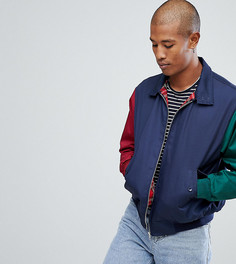 Куртка Харрингтон со вставками Reclaimed Vintage Inspired - Темно-синий