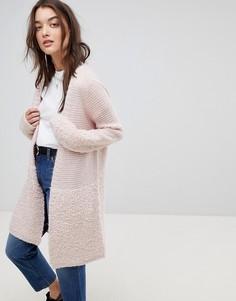 Пальто-кардиган Vila - Розовый