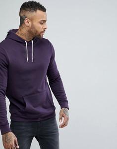 Худи темно-фиолетового цвета New Look - Фиолетовый