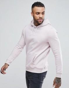 Худи светло-розового цвета New Look - Розовый