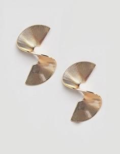 Серьги-гвоздики River Island - Золотой