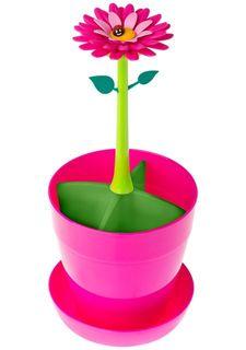 Сушилка для посуды и столовых приборов с крышкой FLOWER POWER VIGAR