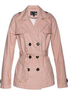 Короткий плащ (винтажно-розовый) Bonprix