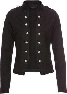 Пиджак с декоративными пуговицами (черный) Bonprix