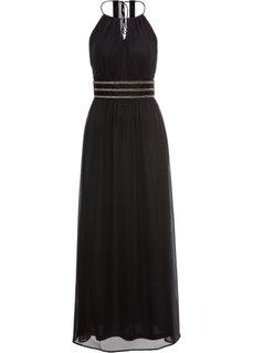 Платье вечернее (черный) Bonprix